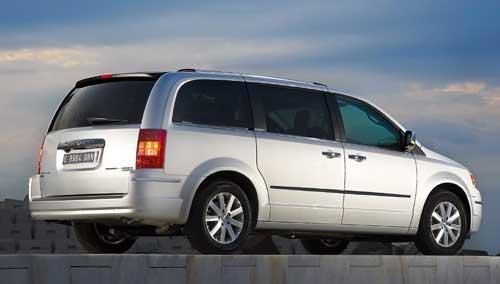 El diseño del Chrysler Grand Voyager