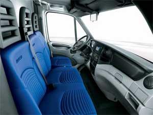 Nueva cabina de la furgoneta Daily de Iveco