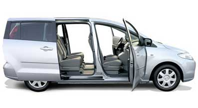 Mazda 5, monovolumen de 7 plazas