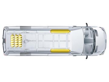Furgoneta Mercedes Benz a gas y gasolina
