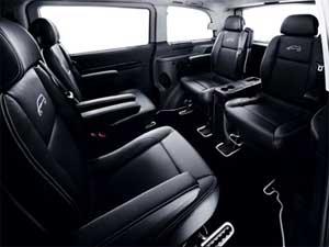 Furgoneta de lujo Viano XClusive de Mercedes
