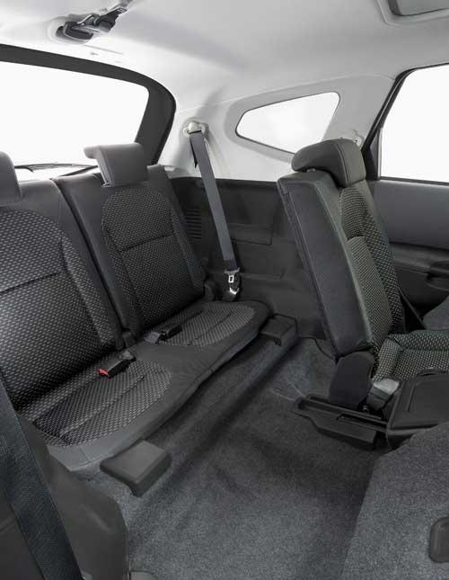 La tercera fila del Nissan QASHQAI siete plazas