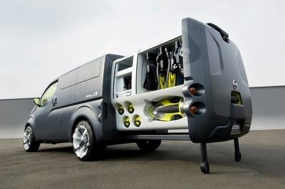 La furgoneta del futuro: Nissan NV200