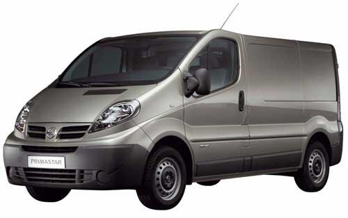 Precios de los furgones Nissan Primastar